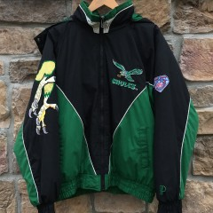 90's Philadelphia Eagles Pro Player vintage 1994 75th anniversary NFL jacket size XL