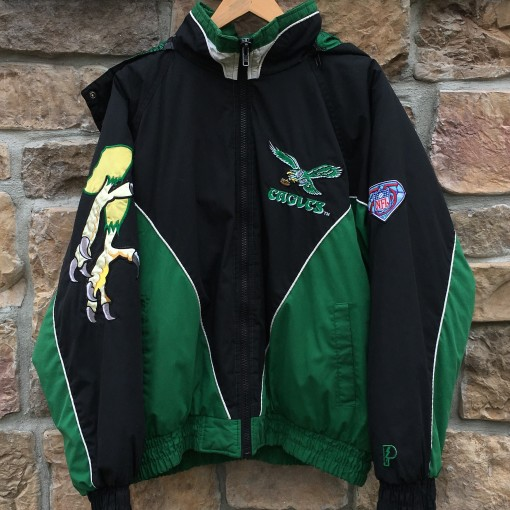 90's Philadelphia Eagles Pro Player vintage 1994 75th anniversary NFL jacket size XL