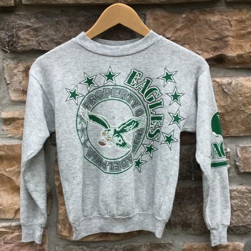 80's Philadelphia Eagles vintage crew neck youth small