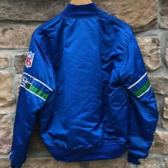 90's Seattle Seahawks Starter Satin NFL bomber jacket size medium