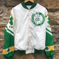 90's Boston Celtics Chalkline Fanimation NBA jacket size Large