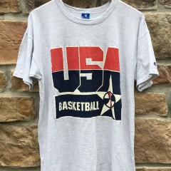 1992 Team USA Champion vintage t shirt dream team size XL