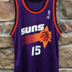 90's Danny Manning Phoenix Suns Champion NBA jersey size 44 Large