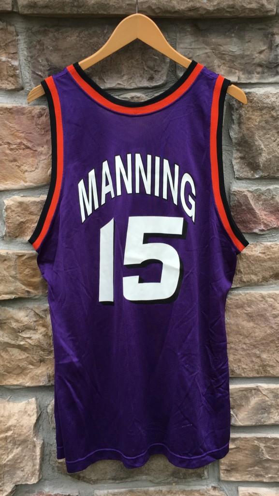 90 s Danny Manning Phoenix Suns Champion NBA jersey size 44 Large 9e4202a89