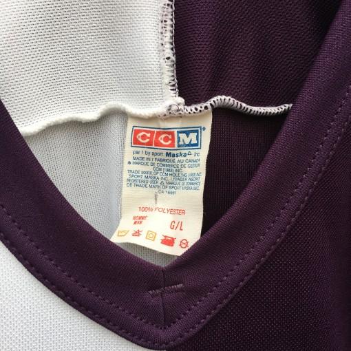 90's Anaheim Mighty Ducks Split CCM NHL jersey size Large