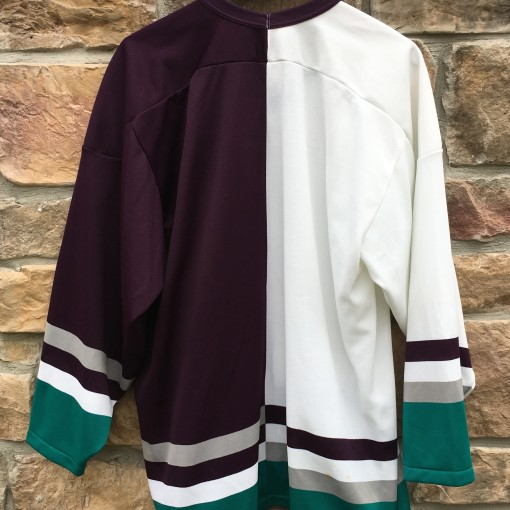 90's Anaheim Mighty Ducks Split CCM NHL jersey size Large