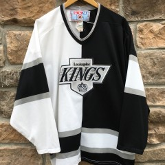 90's Los Angeles Kings Split CCM NHL hockey jersey size large