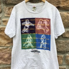 90's Life Liberty Happiness nike grey tag t shirt size large