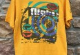90's Nike Flight Scottie Pippen grey tag vintage t shirt yellow