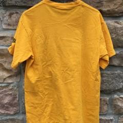 90's Nike Flight Scottie Pippen grey tag vintage t shirt yellow