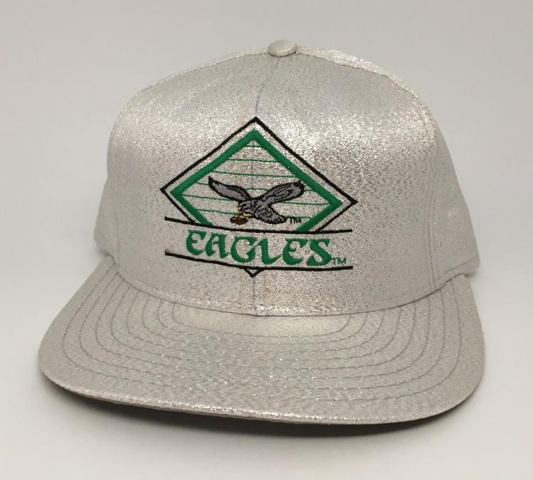90 s Philadelphia Eagles Vintage Shiny Glitter NFL snapback hat 57f944234c7