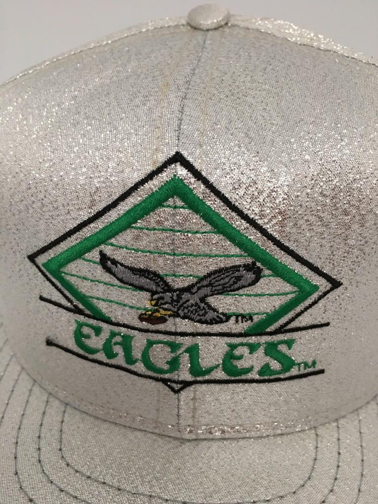 90 s Philadelphia Eagles Vintage Shiny Glitter NFL snapback hat 7e7638c51