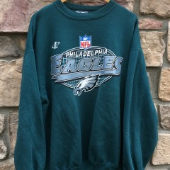 1996 Philadelphia Eagles Logo Athletic Pro Line vintage NFL crewneck sweatshirt size XL
