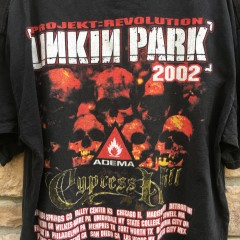 vintage 2002 Linkin Park Projekt Revolution Tour T shirt cypress hill size XL