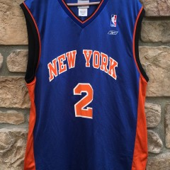 2003 Keith Van Horn New York knicks vintage reebok NBA jersey size large