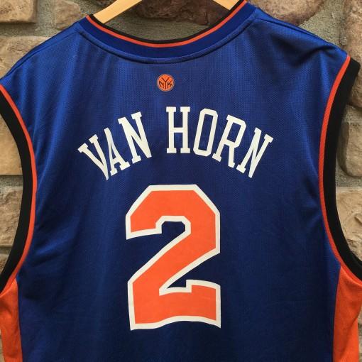 2003 Keith Van Horn New York knicks vintage reebok NBA jersey size large