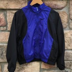 90's Nike windbreaker jacket size small purple black