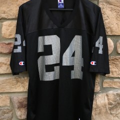 1998 Charles Woodson Oakland Raiders champion nfl jersey size 44 large rookie
