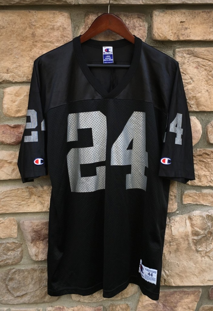 new product bf375 7c340 1998 Charles Woodson Oakland Raiders Champion NFL Jersey Size 44