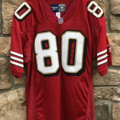 90's Jerry Rice authentic vintage San Francisco 49ers Reebok Pro Line NFL jersey size 44 large