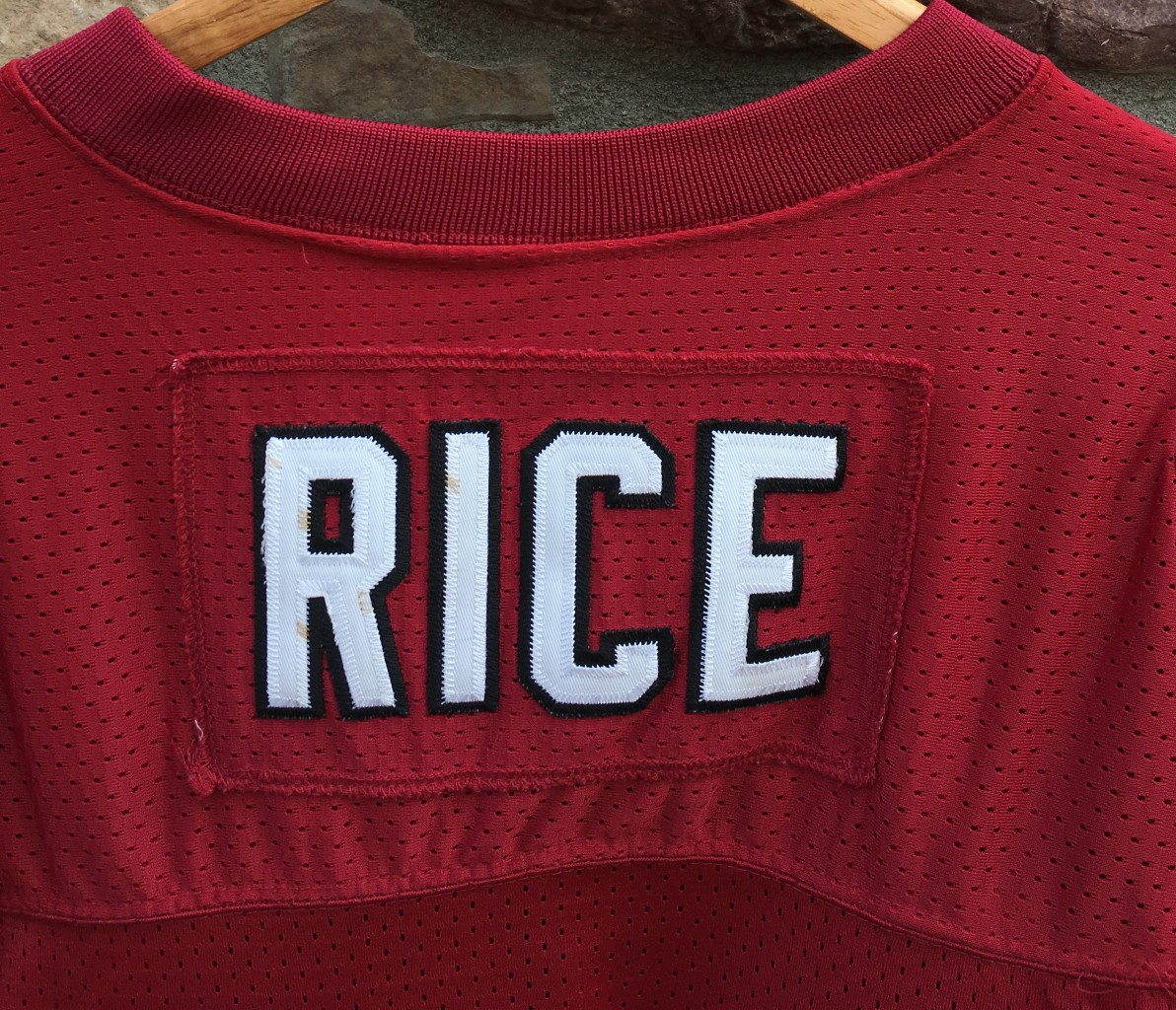 b6c10fca 90's Jerry Rice authentic vintage San Francisco 49ers Reebok Pro Line NFL jersey  size 44 large