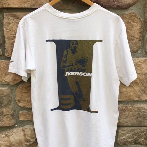 90's vintage Reebok Allen Iverson t shirt size medium