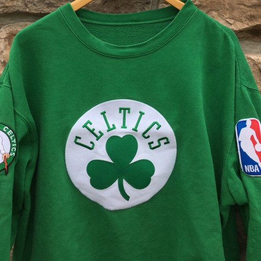 90's Boston Celtics Crewneck sweatshirt size large vintage