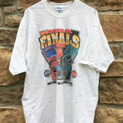 1999 NBA Finals Knicks vs Spurs Pro Player T shirt size XXL