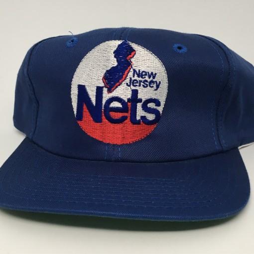 90's New Jersey Nets Deadstock Twins vintage NBA Snapback hat
