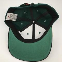 90's Nike Air Swoosh strapback hat forrest green deadstock vintage