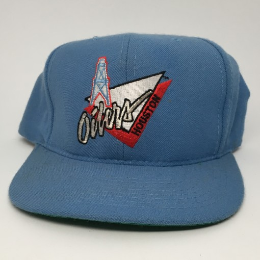 90's Houston Oilers ANNCO NFL vintage snapback hat