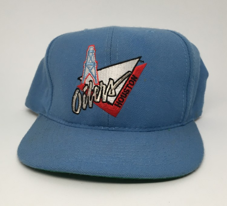 more photos 6583b a4a10 ... get 90s houston oilers annco nfl vintage snapback hat 44cdf 49c38 ...