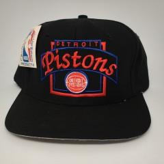 90's Detroit Pistons NBA snapback hat deadstock vintage