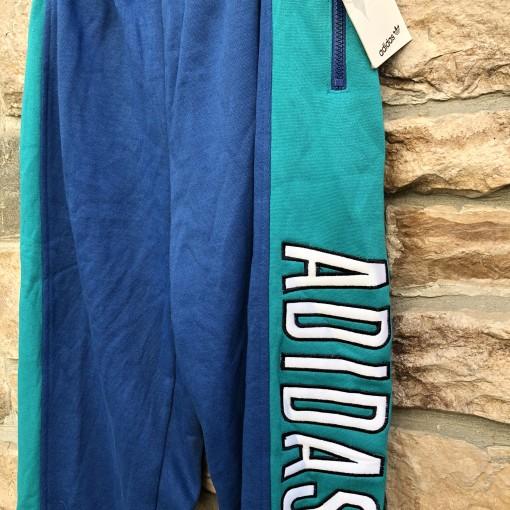 vintage 90's adidas alpine sweatpants size large