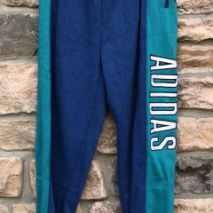 vintage 90's adidas alpine sweatpants size large