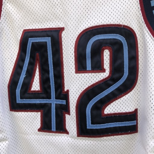 1996 Villanova Wildcats #42 Jason Lawson Authentic Nike NCAA basketball jersey size 40 medium