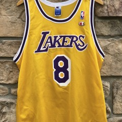 1997 Los Angeles Lakers Kobe Bryant Champion Rookie Jersey size 48 XL