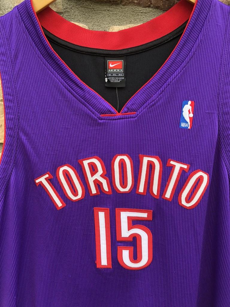 reputable site 0de18 882d6 2000 Vince Carter Toronto Raptors Nike Authentic NBA Jersey Size 56