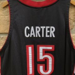 2001 Toronto Raptors Vince Carter Authentic NBA jersey size 56 deadstock Nike