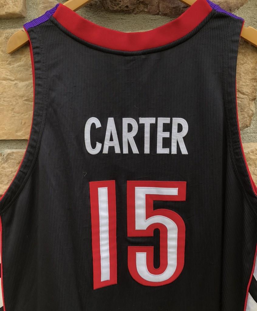 9f979e96f 2001 Toronto Raptors Vince Carter Authentic NBA jersey size 56 deadstock  Nike