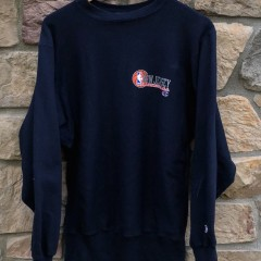vintage 90's New Jersey Nets Champion reversve weave NBA crewneck sweatshirt size large navy