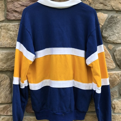 90's RCA Chalkline Polo rugby shirt size XL
