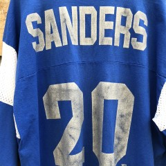 90's Detroit Lions Barry Sanders Lee sport jersey t shirt size XL