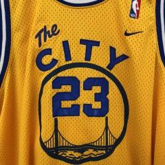 00's Retro Golden State Warriors The City Jason Richardson Nike Swingman NBA jersey size XL