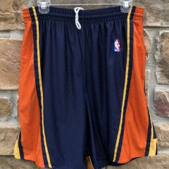 00's Reebok Golden State warriors Authentic NBA shorts size 32