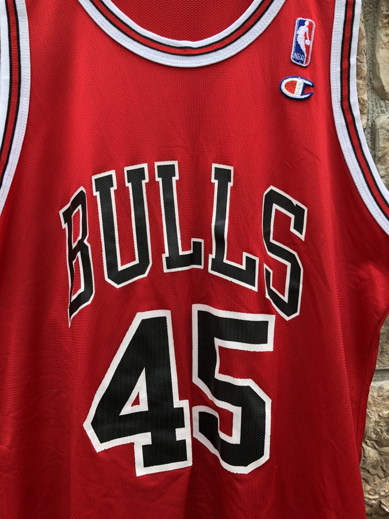 official photos 86018 87d9c 1995 Michael Jordan #45 Chicago Bulls Champion NBA Jersey Size 44