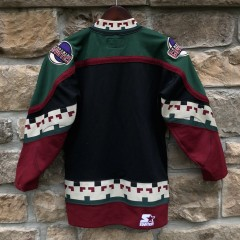 90's Phoenix Coyotes Starter NHL hockey jersey vintage youth size small/medium