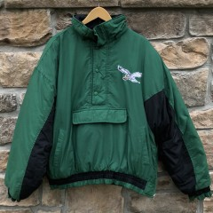 90's Philadelphia Eagles Chalkline Jacket size XL