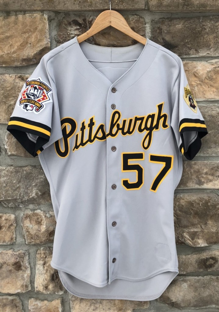 more photos 3d299 9dbed 1994 Pittsburgh Pirates Authentic Rawlings MLB Jersey Size 40