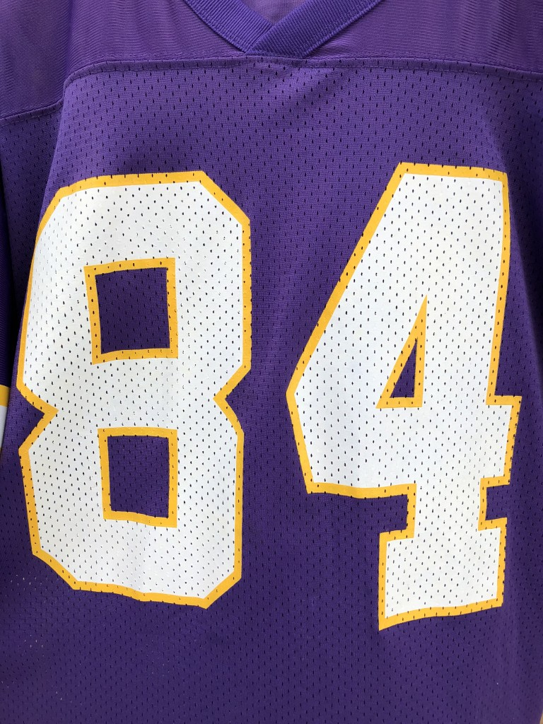 vintage 90 s Randy Moss Minnesota Vikings Starter NFL rookie jersey size 46  Medium 9fb2c031f